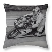 Precision Throw Pillow by Brent  Mileham