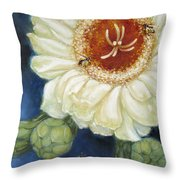 Predawn Business Throw Pillow