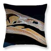 Prehistoric Condor Gymnogyps Kofordi Throw Pillow