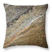 Prehistoric Stone Throw Pillow