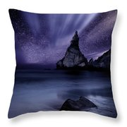 Prelude To Divinity Throw Pillow by Jorge Maia