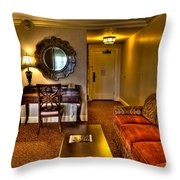 Premier Balcony Suite At The Sagamore Throw Pillow