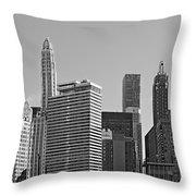 Premier Destination Chicago Throw Pillow