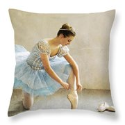 Preparation For Dance - D008548-a Throw Pillow