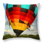 Prepare For Lift Off Throw Pillow