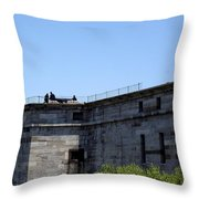 Prepare The Cannon Throw Pillow