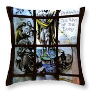 Prepare The Way Throw Pillow