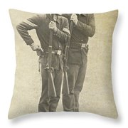 Prepare To Fire Throw Pillow