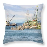 Prepared For Action Throw Pillow