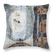 Silken Circles 2 Throw Pillow
