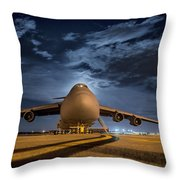 Prepped For Flight Throw Pillow