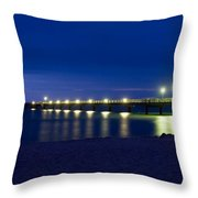 Prerow Baltic Sea Throw Pillow