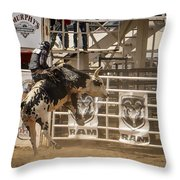 Prescott Az Rodeo Throw Pillow