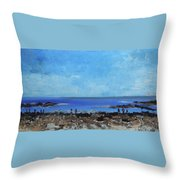 Prescott Park Portsmouth Nh Throw Pillow
