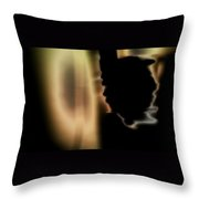 Presence 3 Throw Pillow