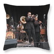 Preservation Hall Jazz Band Throw Pillow