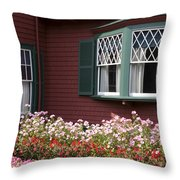 President Roosevelt Cottage Throw Pillow