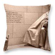 President Theodore Roosevelt 2 Throw Pillow