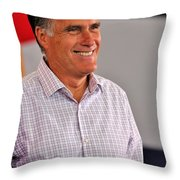 Presidential Material Throw Pillow