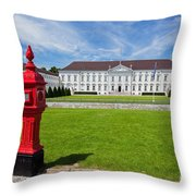 Presidential Palace Berlin Germany Throw Pillow