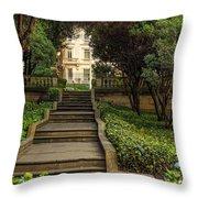 Presidential Palace Garden Throw Pillow