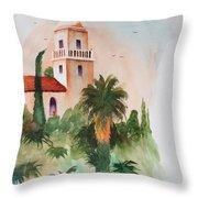 Presidio Park San Diego Throw Pillow