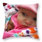 Presious Baby Throw Pillow