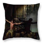 Kidnaped Throw Pillow