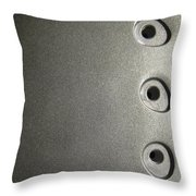 Press Throw Pillow