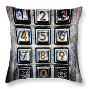 Press Three And Try Again Throw Pillow
