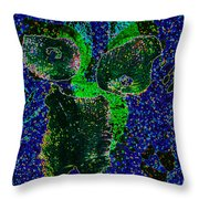 Pressed Throw Pillow