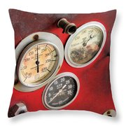 Pressure Up Throw Pillow