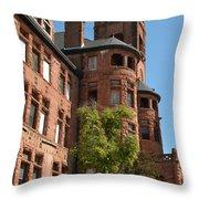 Preston Castle Throw Pillow