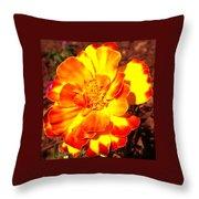 Prettiest Flower In The Garden Throw Pillow