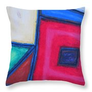 Pretty American Throw Pillow