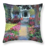 Pretty Bungalow Study 2 Throw Pillow
