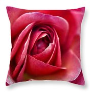 Pretty Pink Muted Throw Pillow