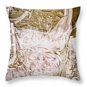 Pretty Things 1 - Lingerie Art By Sharon Cummings Throw Pillow