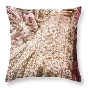 Pretty Things 2 - Lingerie Art By Sharon Cummings Throw Pillow