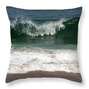 Pretty Wave Throw Pillow
