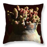 Prickly Padres Throw Pillow