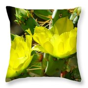 Prickly Pride Throw Pillow