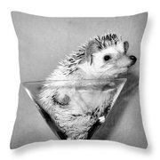 Prickly Toasting Throw Pillow