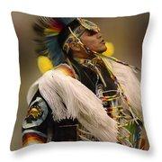 Pow Wow Native Pride 2 Throw Pillow