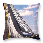 Pride Of Baltimore 2 Throw Pillow