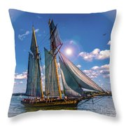Pride Of Baltimore 3 Throw Pillow