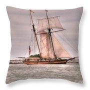 Pride Of Baltimore Throw Pillow