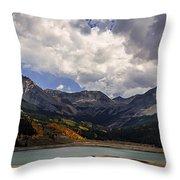Priest Lake Colorado Throw Pillow