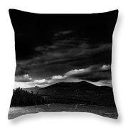 Priest Lake Splendor Throw Pillow