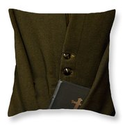 Priest Throw Pillow